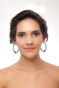 Panama Earring Hoops - Sasha L JEWELS LLC