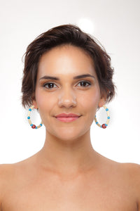 United States (America) Earring Hoops - Sasha L JEWELS LLC