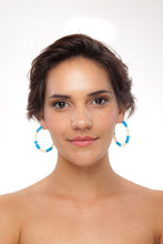 Load image into Gallery viewer, Honduras Hoop Earrings - Sasha L JEWELS LLC