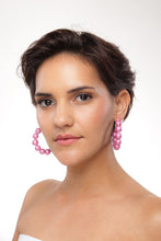 Load image into Gallery viewer, Metallic Hoop Earrings - Sasha L JEWELS LLC