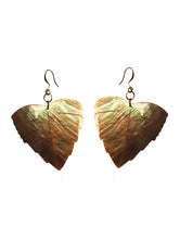 Load image into Gallery viewer, Iridescent Leaf Earrings - Sasha L JEWELS LLC