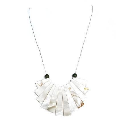 Ivory Fan Choker - Sasha L JEWELS LLC