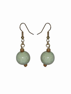 Glass Ornament Earrings - Sasha L JEWELS LLC