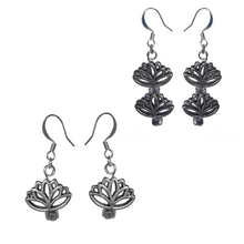 Load image into Gallery viewer, Lotus Earrings - Sasha L JEWELS LLC