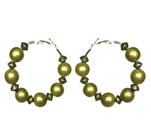 Load image into Gallery viewer, Metallic Classic Hoop Earrings