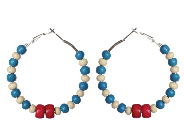 Montserrat Earring Hoops - Sasha L JEWELS LLC