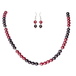 Elegant Cherry Pearl Set - Sasha L JEWELS LLC