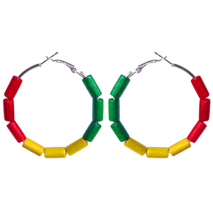 Ghana Earring Hoops - Sasha L JEWELS LLC
