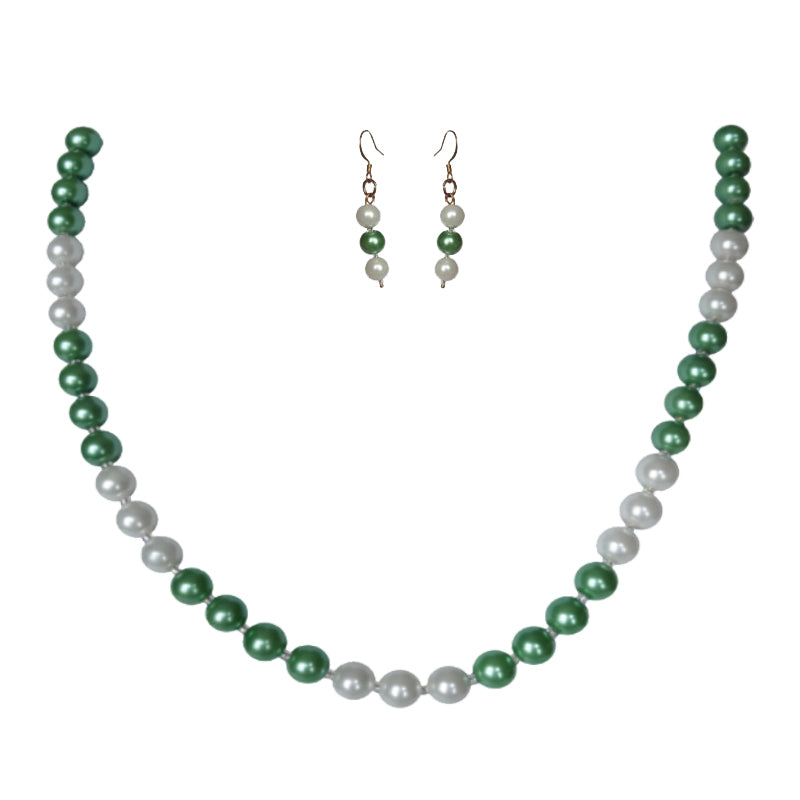 Irish Cream Pearl Set - Sasha L JEWELS LLC