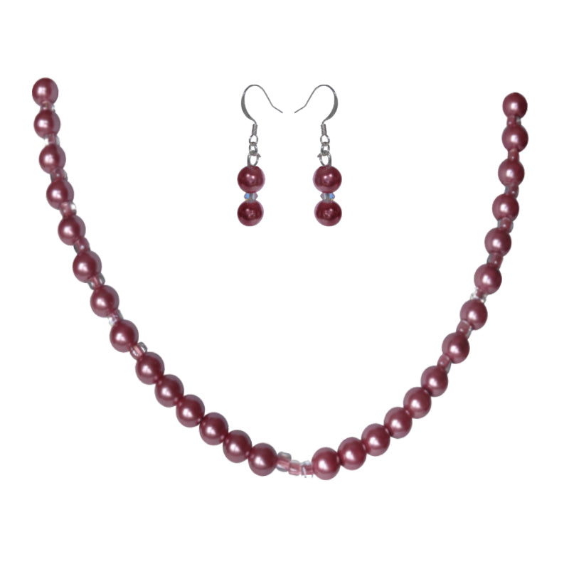 Sugar Plum Pearl Set - Sasha L JEWELS LLC