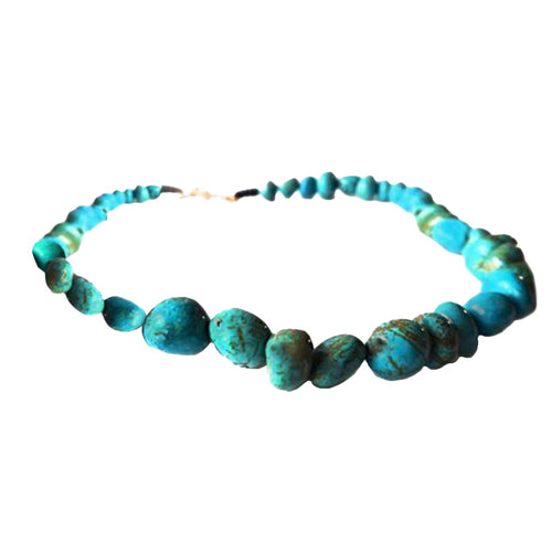 Turquoise Splendor Necklace - Sasha L JEWELS LLC