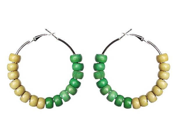 Nigeria Earring Hoops - Sasha L JEWELS LLC