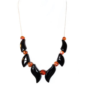 Onyx Focal Choker - Sasha L JEWELS LLC