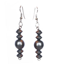 Load image into Gallery viewer, Metallic Statement Earrings - Sasha L JEWELS LLC