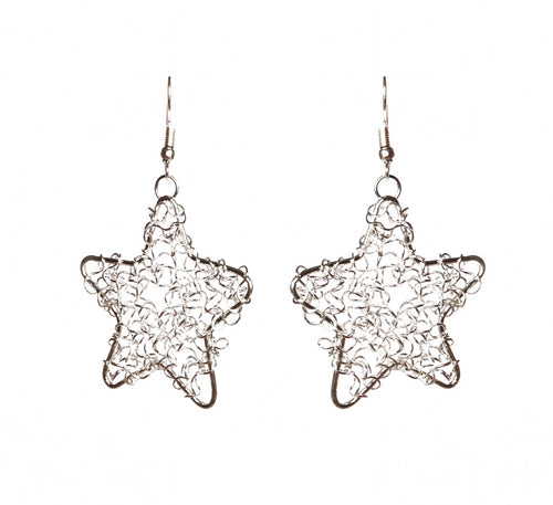 Star Wire Earrings- Single - Sasha L JEWELS LLC