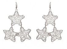 Load image into Gallery viewer, Star Wire Constellation Earrings - Sasha L JEWELS LLC