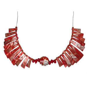 Firebird Fan Choker - Sasha L JEWELS LLC