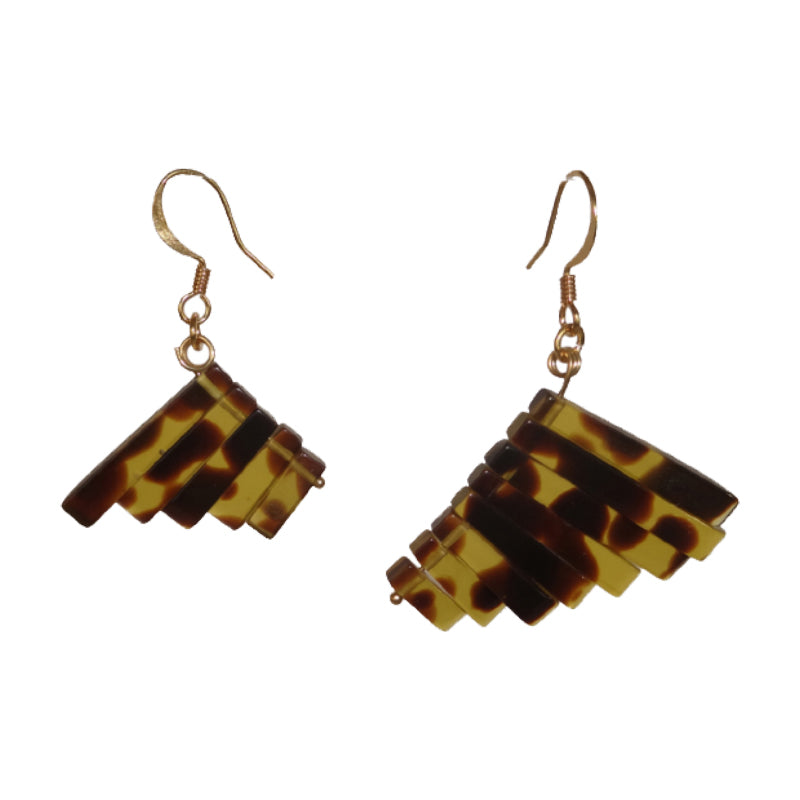 Tiger's Eye Mismatch Earrings - Sasha L JEWELS LLC
