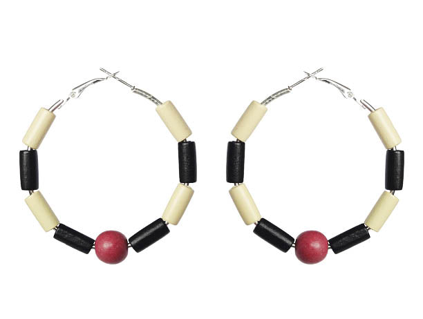 Trinidad and Tobago Earring Hoops - Sasha L JEWELS LLC