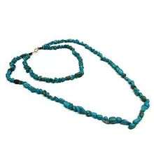Load image into Gallery viewer, Turquoise Chip Necklace - Sasha L JEWELS LLC