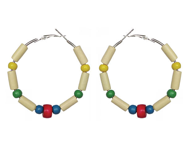 Virgin Islands Earring Hoops - Sasha L JEWELS LLC