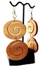 Load image into Gallery viewer, Hypnosis Double Earrings