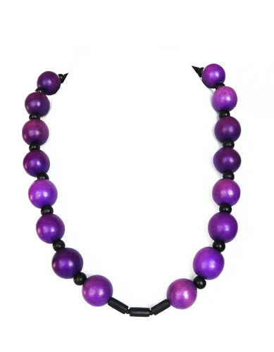 Purple Lush Necklace - Sasha L JEWELS LLC