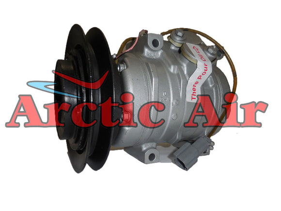 1007HD AC compressor for John Deere applications front view