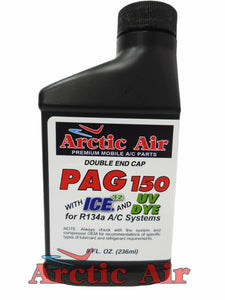 Arctic Air PAG 150 with ICE and UV Dye - 8 oz.