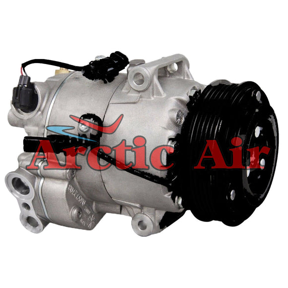 157271 AC compressor with clutch for 2012-2015 Chevrolet Cruze (front view)