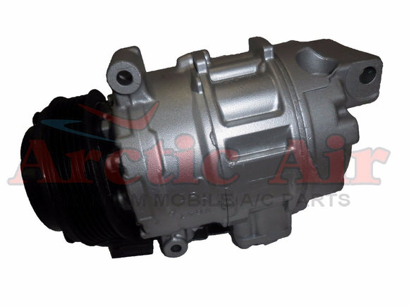 157309 AC compressor with clutch for 2005-2011 Cadillac STS (front view)