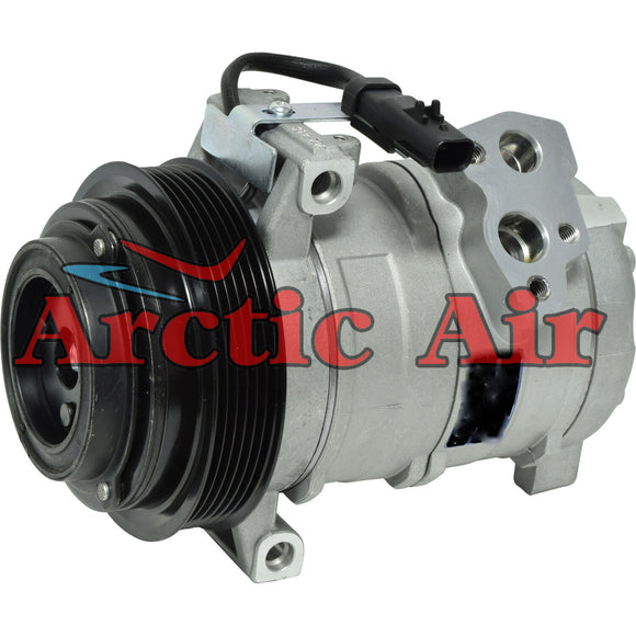157346 AC Compressor for 2008-2010 Dodge Grand Caravan and Chrysler Town & Country