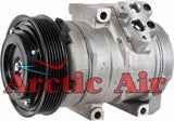 157373 AC compressor for 2002-2006 Mazda MPV (front view)