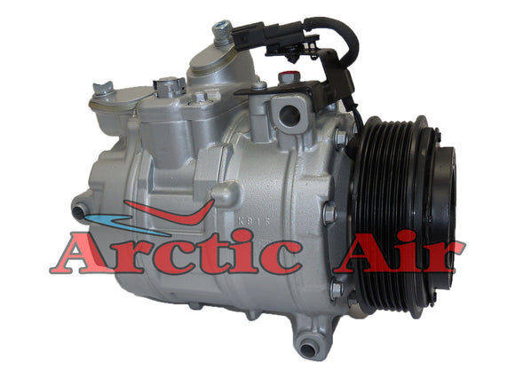 197355 AC compressor for 2012-2014 Ford Edge (front view)