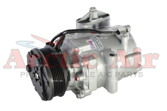 197554 AC compressor with clutch for 2004-2007 Saturn Vue (front view)
