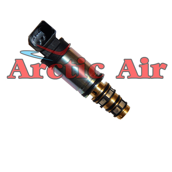 MT3444 A/C Control Valve for Sanden PXE13/16 Compressors and 2006 BMW 750i front view