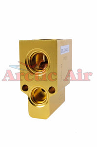 38670 A/C Block Expansion Valve for 93-10 Audi TT, Saab 9-5, and VW Jetta/Golf front view