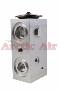 39146 A/C Block Expansion Valve for 2003-2005 Lincoln Aviator front view