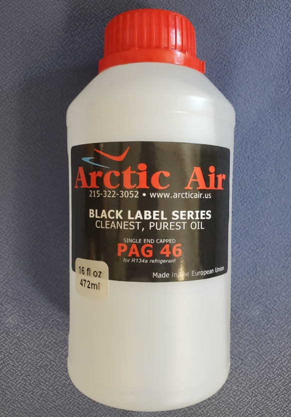 A/C Compressor Oil 16oz/ PAG Oil 46/ AC Oil/ A/C System Oil For R-134A