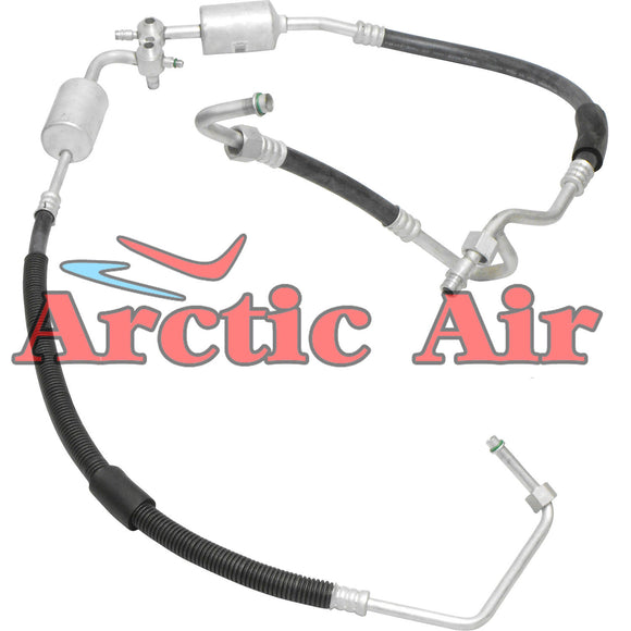 56157 A/C Suction and Discharge Assembly for 96-00 GMC C1500 C2500 Yukon 5.7L