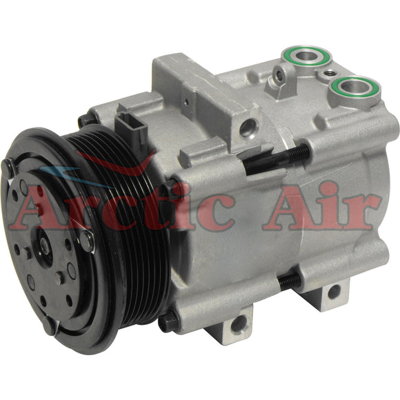 57123 AC Compressor for 1991-1993 Ford Crown Victoria, Lincoln Town Car, and Mercury Grand Marquis