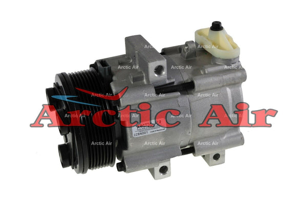57149 AC Compressor for 1997-2002 Lincoln Navigator and Ford E Econoline Series/Expedition (front view)