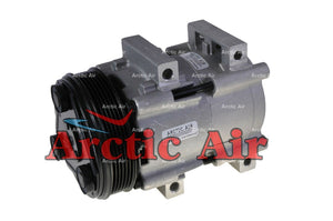 57169 AC compressor for 2001-2011 Ford Ranger and Mazda B2300/B4000 (front view)