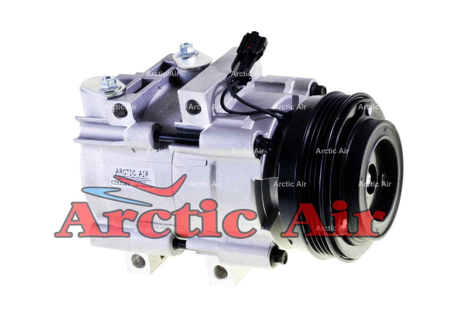 AC Compressor Fits 2003-2006 Kia Sorento 1 Year Warranty Reman 57190