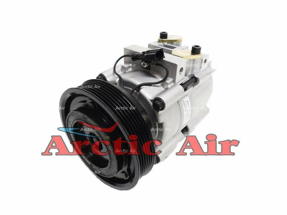 57198 AC Compressor for 2003-2006 Hyundai Santa Fe (front view)