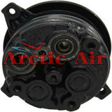 57257 AC compressor for 1987 Buick Skyhawk and 1988 Pontiac Sunbird (top view)