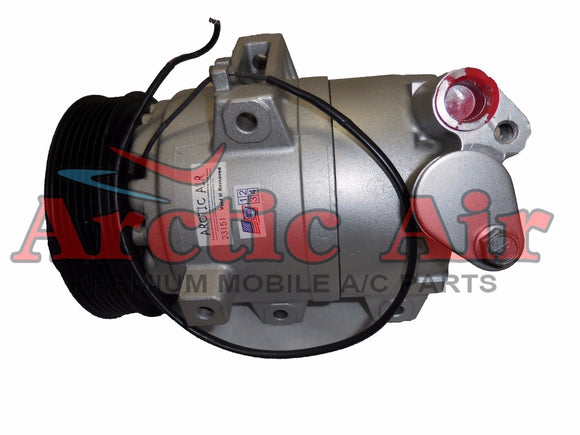 57411 AC Compressor with Clutch fits 2003-2008 Mazda 6 3.0L (after 5/20/2003)