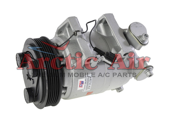 57461 AC Compressor for 2002-2006 Nissan Altima 2.5L (front view)