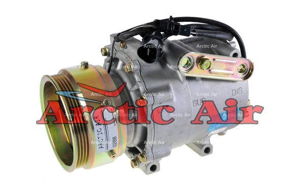 57485 OEM AC Compressor for 1990 Mitsubishi Galant (w/Single Groove Pulley)