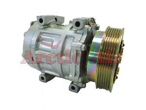 57579 OEM AC Compressor for 1991-1994 Ford Escort and Mercury Tracer (GT, Dealer Air)